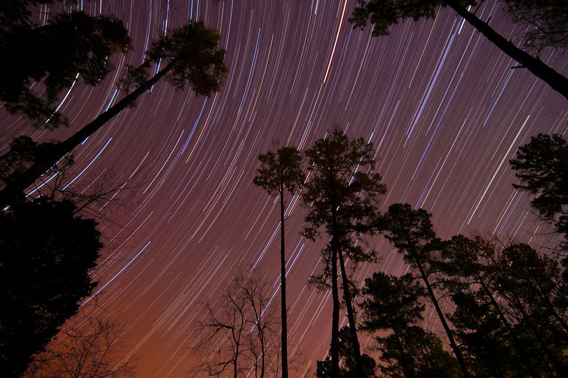 80 minute star trail compilation